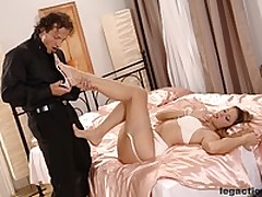 Great footjob and hardcore scene of Monica <font color=#43d0cc>18:36 мин</font>
