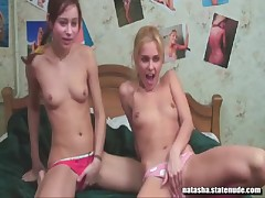 Russian girls sasha and natasha live show  - <font color=#43d0cc>24:31 мин</font>