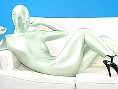 Shiny spandex girl stripping for you <font color=#43d0cc>29:20 мин</font>