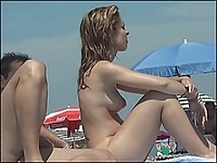 Sneaky movies with beach nudists basking in the sun <font color=#43d0cc>18:50 мин</font>