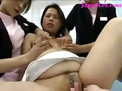 Japanese Lesbians Sqeeze Milk Out of Her Tits Lactate - <font color=#43d0cc>29:34 мин</font>