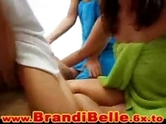 Brandi-Belle : 4 girls 1 guy and a lot of lotion <font color=#43d0cc>31:23 мин</font>