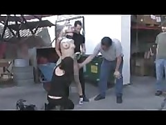 Public Torture of a BDSM Bound Victim <font color=#43d0cc>5:51 мин</font>