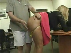 Secretary Spanked and Fucked Doggy Style - <font color=#43d0cc>18:30 мин</font>