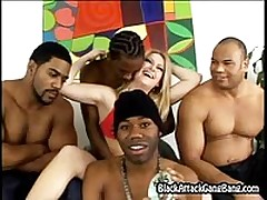 Exceptional interracial gangbang <font color=#43d0cc>27:42 мин</font>