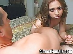 Asian Tranny gets Ass Banged <font color=#43d0cc>11:26 мин</font>