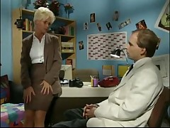 German woman fucking in the office - <font color=#43d0cc>23:19 мин</font>