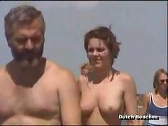 Zandvoort Dutch Beach Topless Nudist Titties 1-2 <font color=#43d0cc>9:40 мин</font>