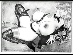 Largest Breasts in the World, BDSM vintage sex artwork - <font color=#43d0cc>8:49 мин</font>