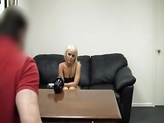Sexy tattooed blonde babe Carmen visits the casting couch and gets nailed <font color=#43d0cc>7:27 мин</font>