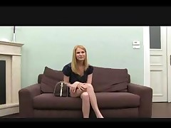 Blonde on the casting couch gets a cock to suck and fuck for tryout <font color=#43d0cc>18:14 мин</font>