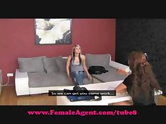 Brunette Sylvia is interviewed and cast and eats some pussy <font color=#43d0cc>20:20 мин</font>