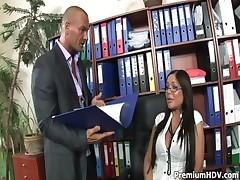 Cum on his sexy secretary boobs <font color=#43d0cc>21:47 мин</font>