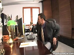 Office slut Donna Bell gets rammed <font color=#43d0cc>7:29 мин</font>