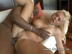 White Blonde Whore Alyssa Jordan Tries Out Black Cock - <font color=#43d0cc>15:46 мин</font>