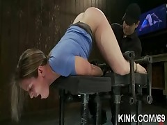 Dirty slave girl squirts and fucked hard  - <font color=#43d0cc>6:46 мин</font>