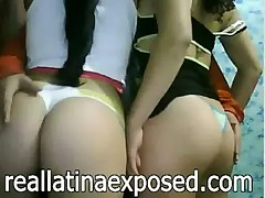 Latina duo of bitches showing off  - <font color=#43d0cc>32:21 мин</font>