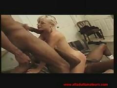 Blonde gets two black cocks - <font color=#43d0cc>19:21 мин</font>