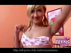 Round assed blonde Russian teen fucks a massive dildo - <font color=#43d0cc>8:45 мин</font>