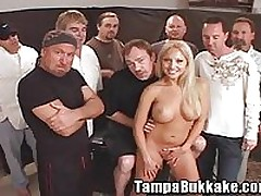 Bukkake Gangbang Party <font color=#43d0cc>14:44 мин</font>