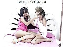 Two Young Teen Lesbians <font color=#43d0cc>30:49 мин</font>