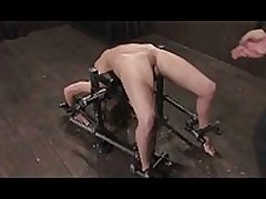Steel bondage restrained maledom BDSM <font color=#43d0cc>22:43 мин</font>
