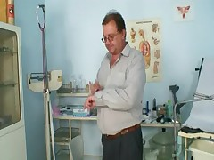 Mature olga has her redhead hairy pussy gyno speculum exam  - <font color=#43d0cc>8:19 мин</font>